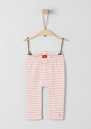Leggings à rayures horizontales en jersey de s.Oliver
