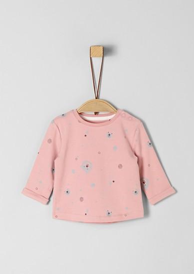 Langarmshirt mit Bärchen-Muster
