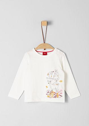 T-shirt à manches longues à imprimé scintillant de s.Oliver