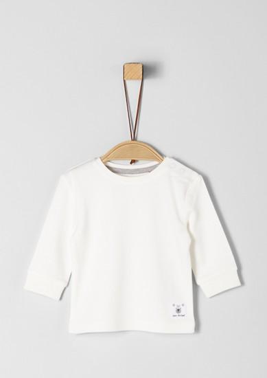 Majica dolg rokav z obrobo