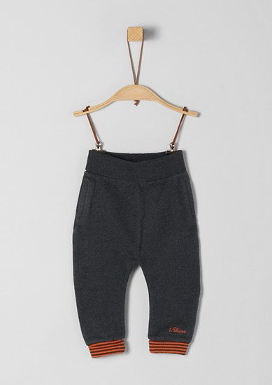 Tracksuit bottoms with striped cuffs from s.Oliver