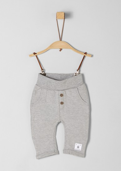 Tracksuit bottoms with decorative buttons from s.Oliver