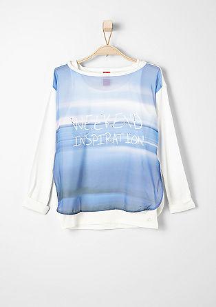 2in1-Blusenshirt mit Top