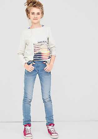 Skinny Suri: Stretch-Jeans