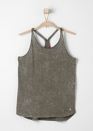 Top with a braided racer back from s.Oliver