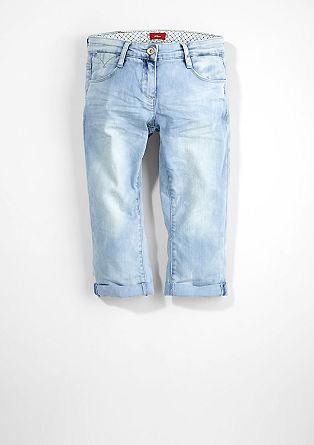Skinny Suri: Capri-Denim