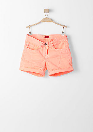 Stretch-Shorts in Neon