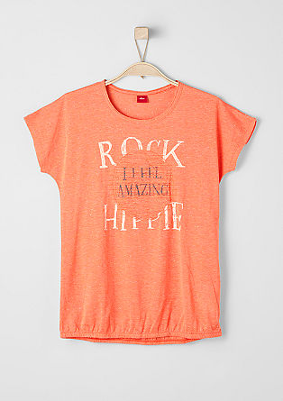 Rockiges O-Shape-Shirt
