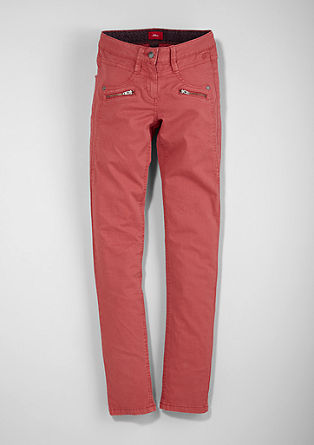 Skinny Suri: coloured denim