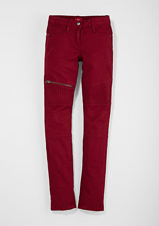Skinny Suri: Biker-style trousers from s.Oliver