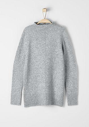 Soft wool blend jumper from s.Oliver