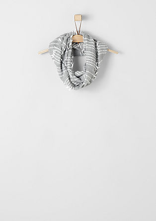 Fransen-Loop mit Streifen
