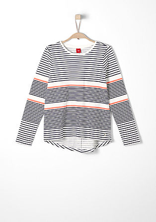 Long sleeve top in a nautical look from s.Oliver