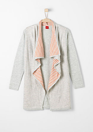 Cardigan with striped details from s.Oliver
