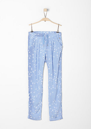 Light & airy summer trousers from s.Oliver
