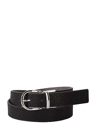 Reversible belt with two colours from s.Oliver