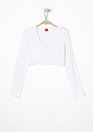 Lightweight jersey bolero from s.Oliver