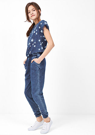 Jumpsuit with star print from s.Oliver