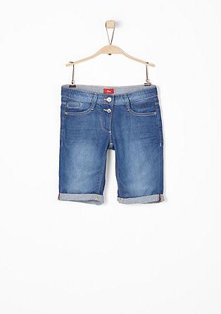 Jogger Jeans-Bermuda