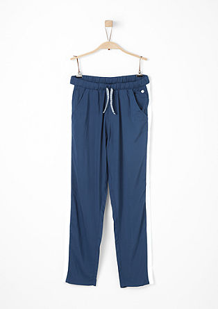 Lightweight cloth trousers with stripes from s.Oliver