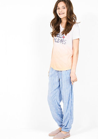 Lightweight summer trousers from s.Oliver