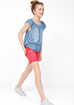 Coloured stretch shorts from s.Oliver