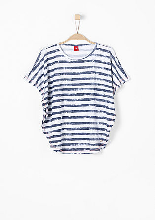 Batwing sleeves with stripes from s.Oliver