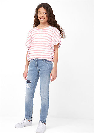 Suri: Jeans im Destroyed-Look