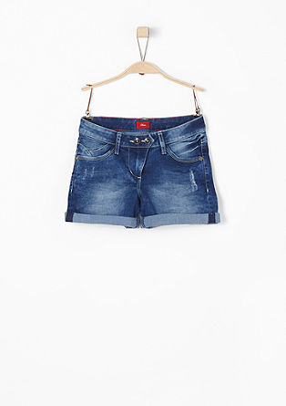 Super stretchige Denim-Shorts