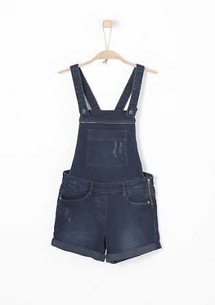 Dungarees with zip details from s.Oliver