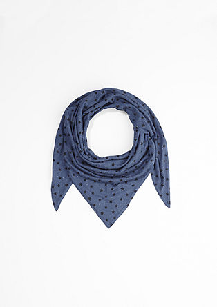 Triangular jersey scarf from s.Oliver