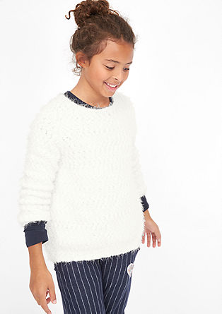 Cosy knitted jumper from s.Oliver