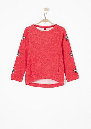 Oversize-Sweater mit Sternen