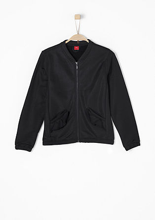 Lightweight bomber jacket with frills from s.Oliver