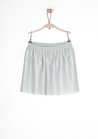 Pleated satin skirt from s.Oliver