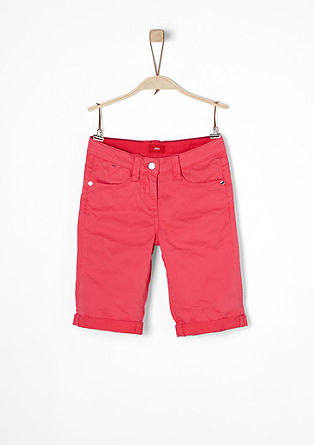 garment-dyed Bermudas from s.Oliver