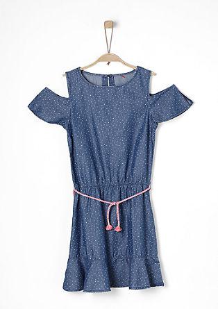 Strapless denim dress from s.Oliver