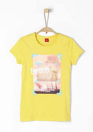 Majica kratek rokav s poletnim potiskom