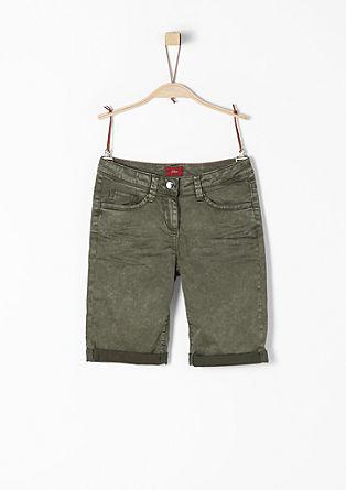 bermuda hlače z videzom spranosti