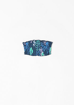 2-in-1-Top mit Bandeau