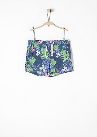 Airy shorts with a print from s.Oliver