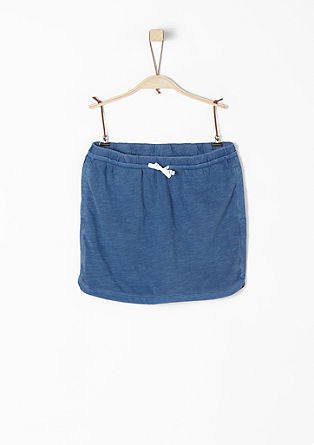 Short jersey skirt from s.Oliver