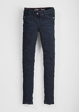 Skinny Suri: dark jeans from s.Oliver