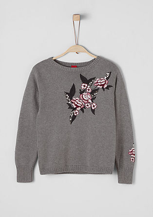 Pullover mit Embroidery