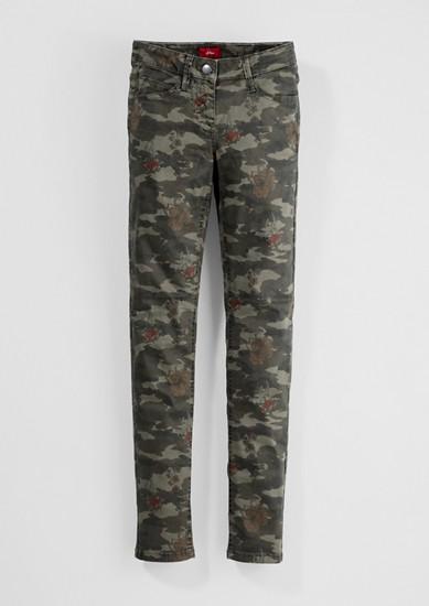 Skinny Suri: Camouflage-Hose