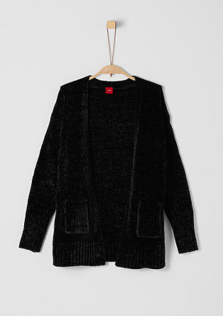 Cosy chenille cardigan from s.Oliver
