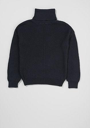 Pull-over à col roulé en laine mélangée de s.Oliver