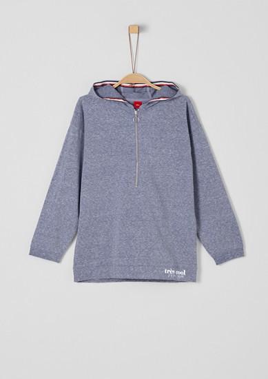 Hoodie im Oversize-Style mit Zipper