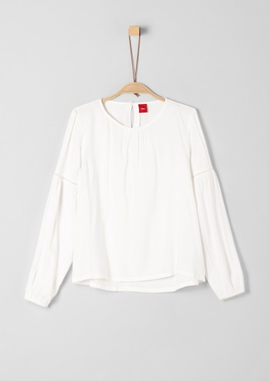 Blouse with an all-over pattern from s.Oliver