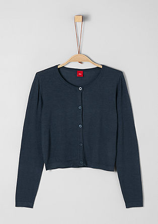 Soft, fine knit cardigan from s.Oliver